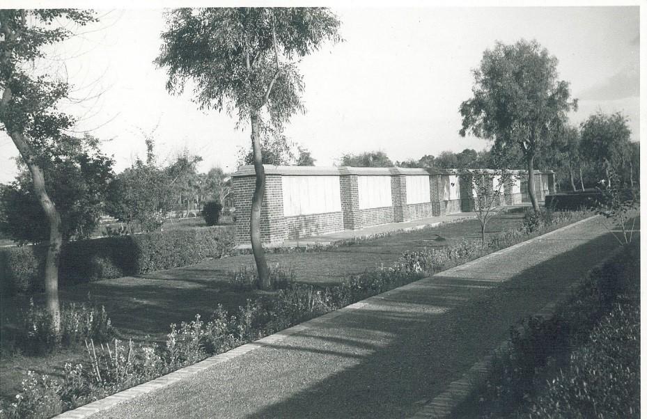 Basra War Cemetery in the 1950s