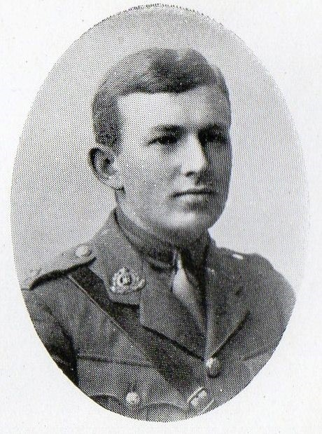 Second Lieutenant Ashley Waterson McGain, 11th Battalion, Suffolk Regiment