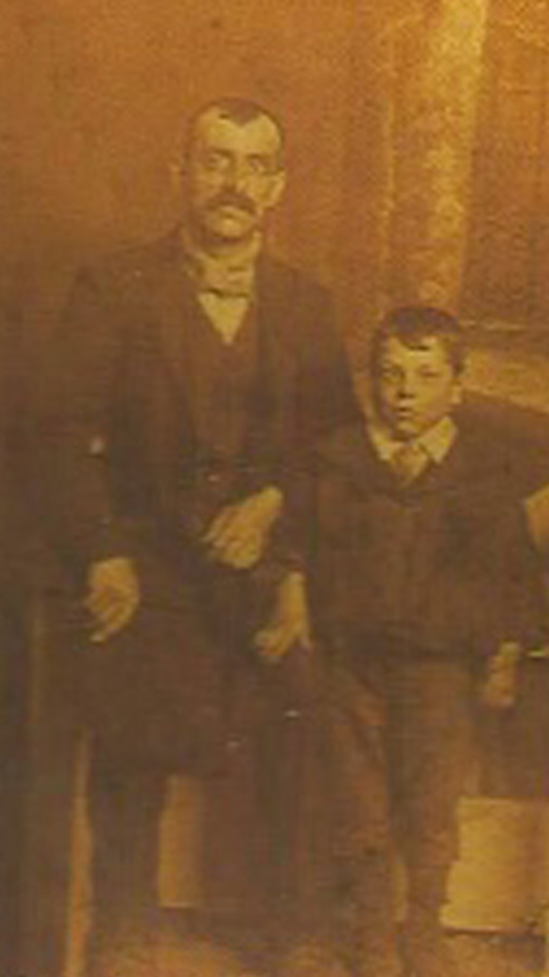 Walter, Joe's father, and one of his other sons