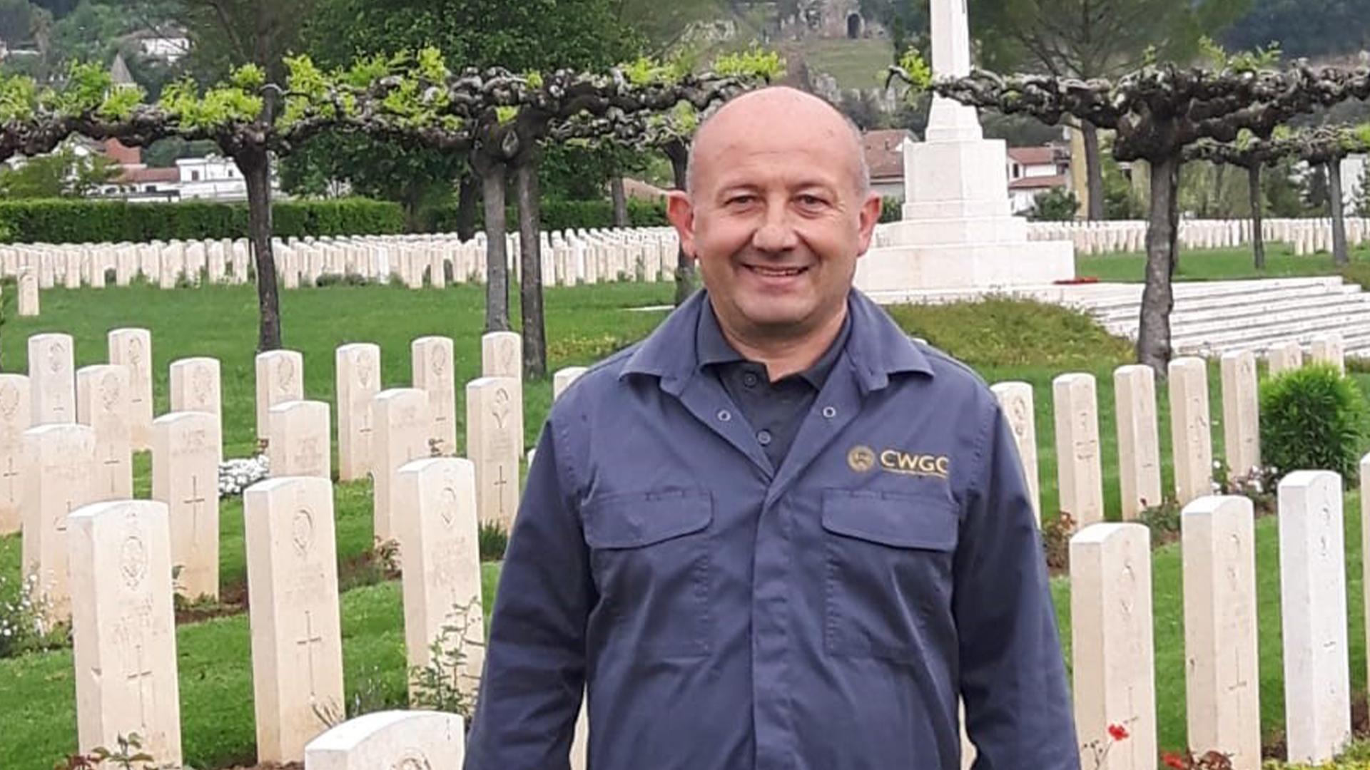 Head Gardener Giancarlo Castiglia