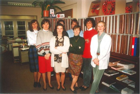 Christine with some of her colleagues