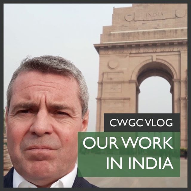 We've just released the latest Commonwealth War Graves Commission Vlog.  In this episode Rich Hills, Director Africa and Asia Pacific Area travels to India in order to highlight the work that the Commission undertakes in the country along with some of the challenges that they face – which include close encounters with snakes!
