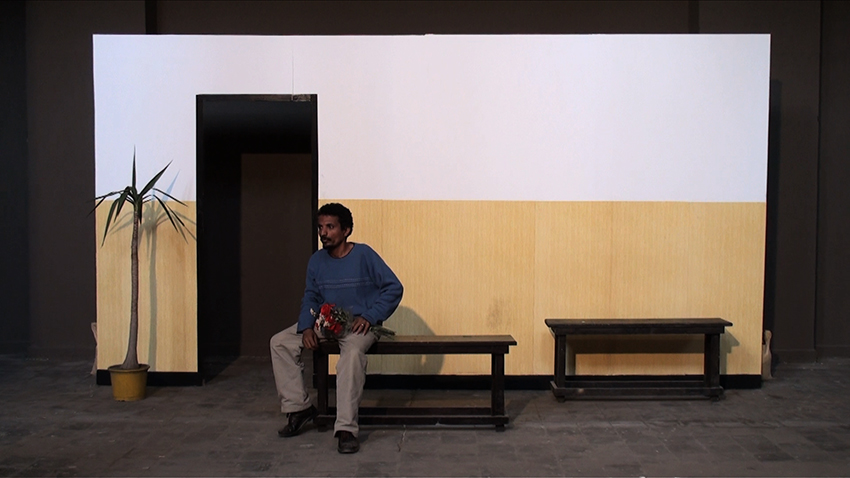 The Waiting Panorama. Still from video, 2011