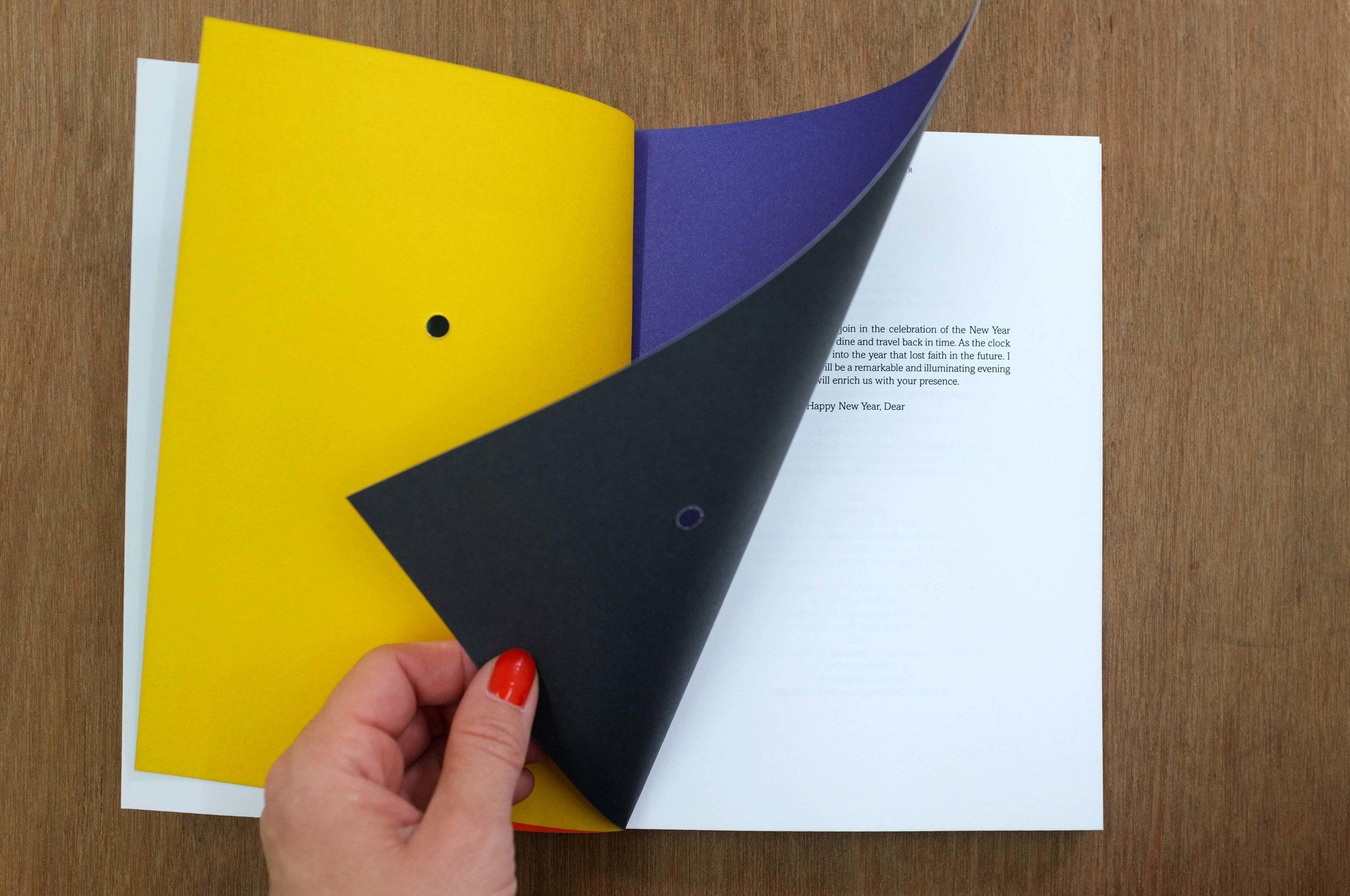 Happy New Year, Dear. Book spread, 2013