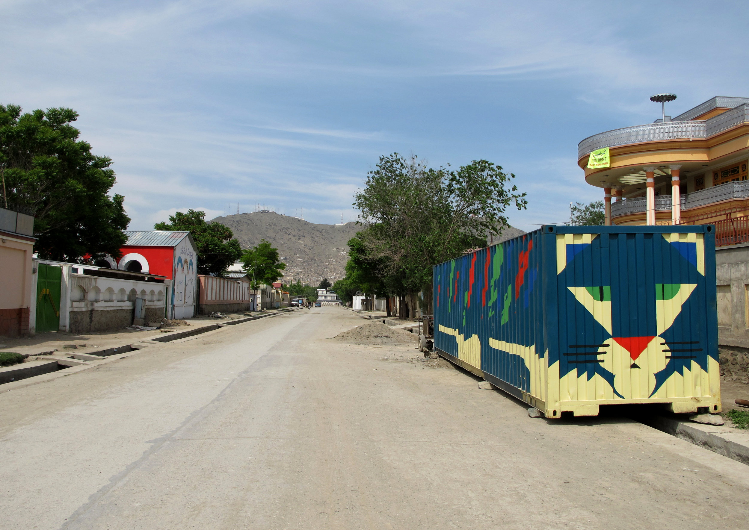 Mini Mobile Circus For Children. Container Project, 2010