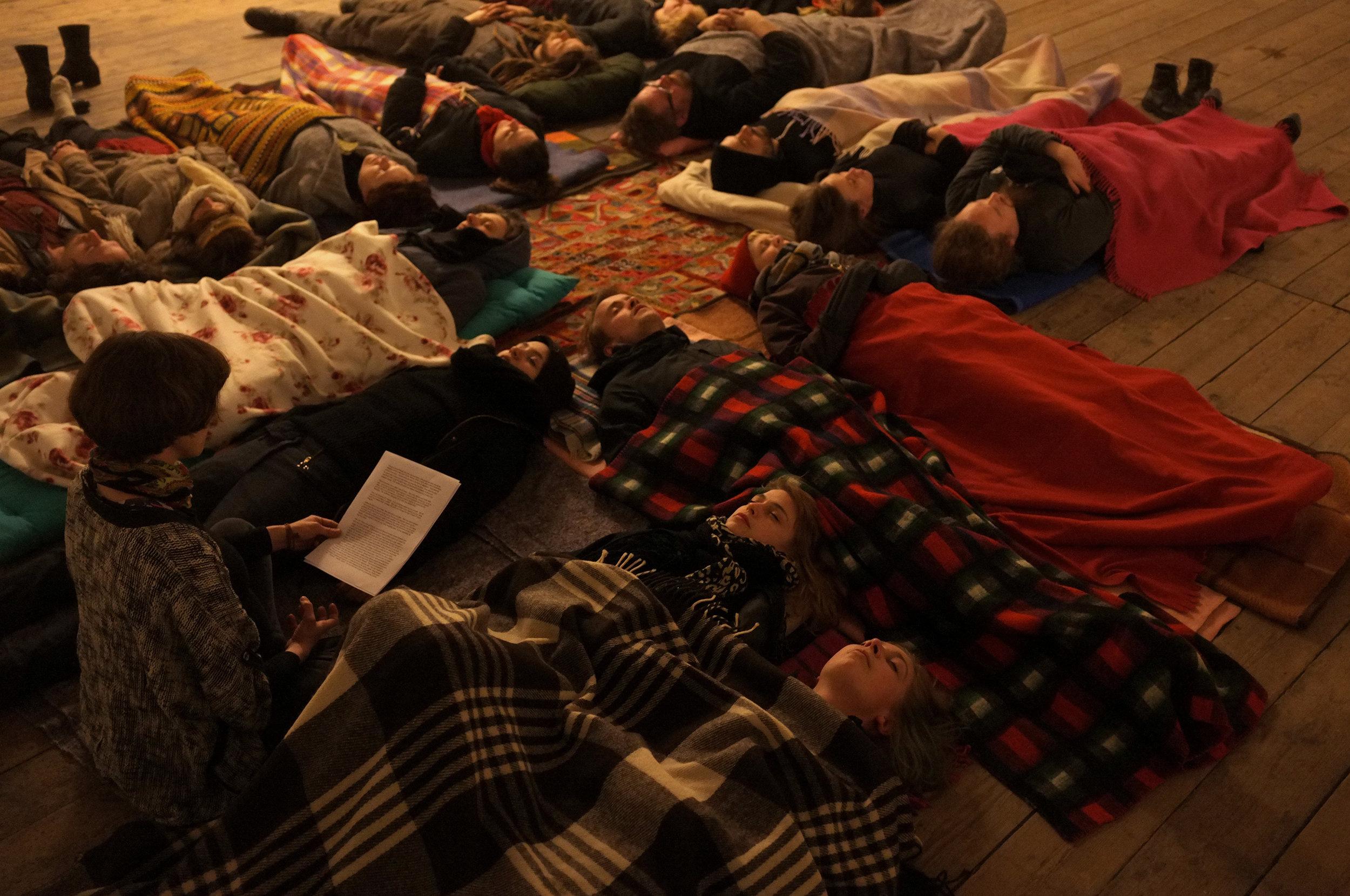 Frisk Flugt - Growing Silent. J&K performance at New Shelter Plan, 2015