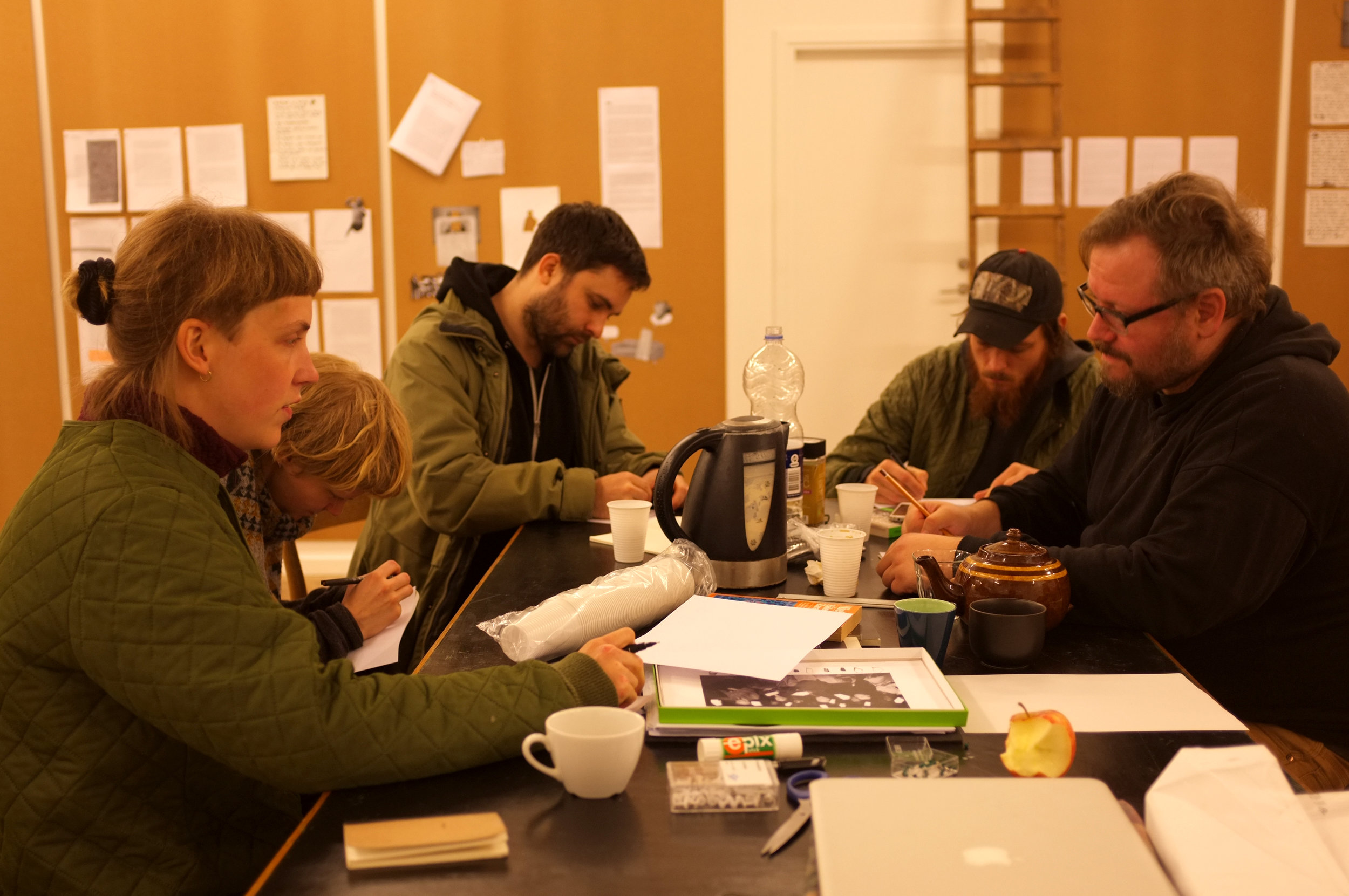 Frisk Flugt - Growing Silent. Open Editorial Process at New Shelter Plan, 2015