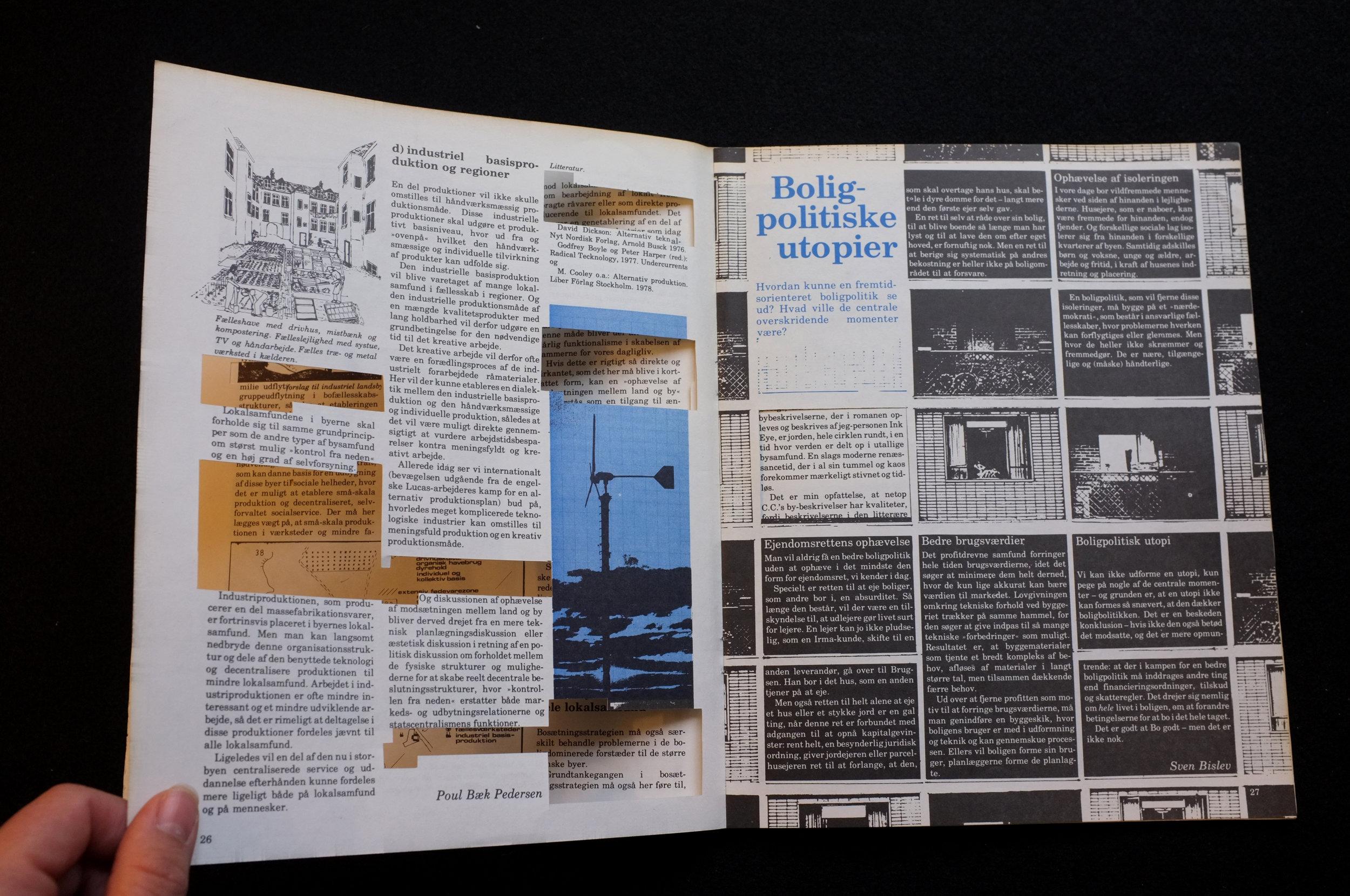 Frisk Flugt klipper i Blød By - Installation view, Hospital Prison University Archive, 2017