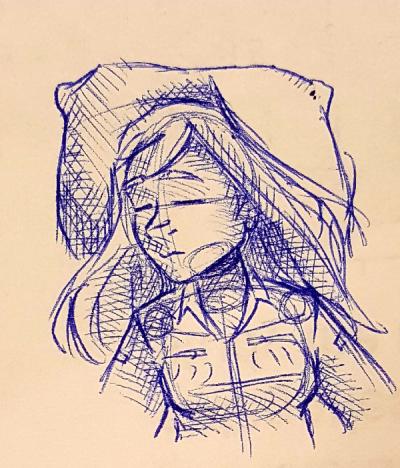 Sleeping Mia