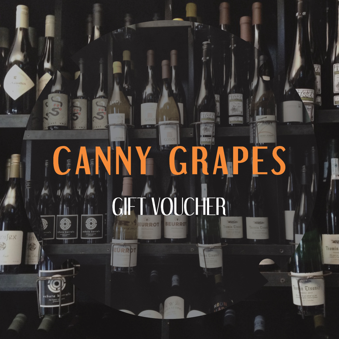 Canny Grapes Wine Tasting Gift voucher