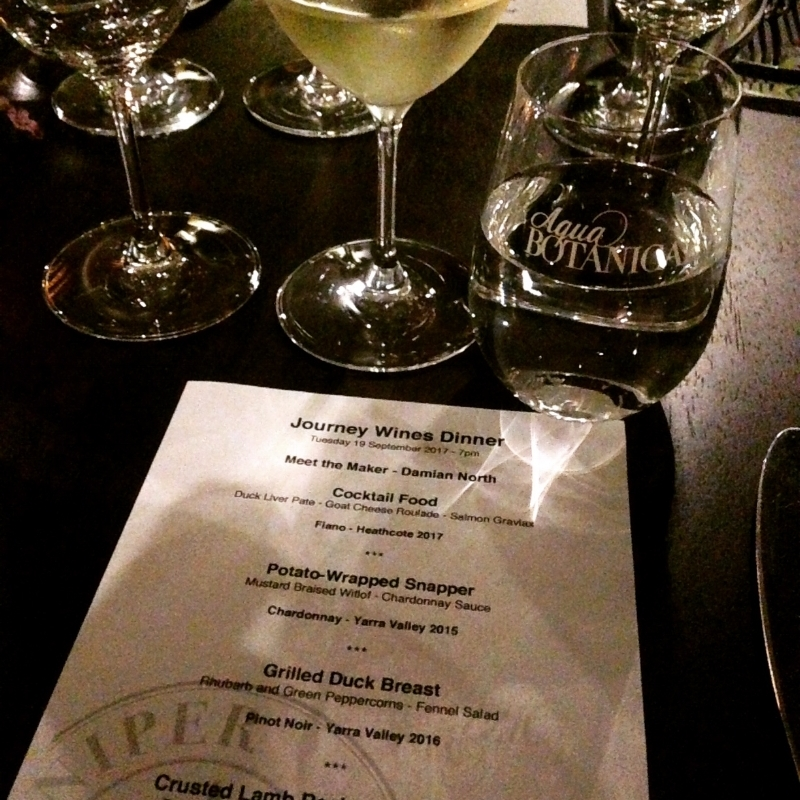 Canny Grapes Wine Dinner at Juniper & Bay