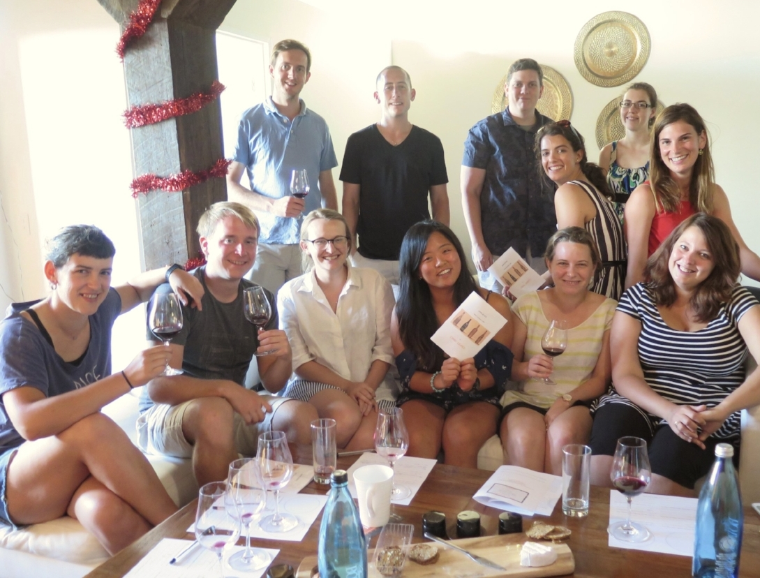Studying history, geology or languages is far more fun when you can combine it with a wine tasting class!
