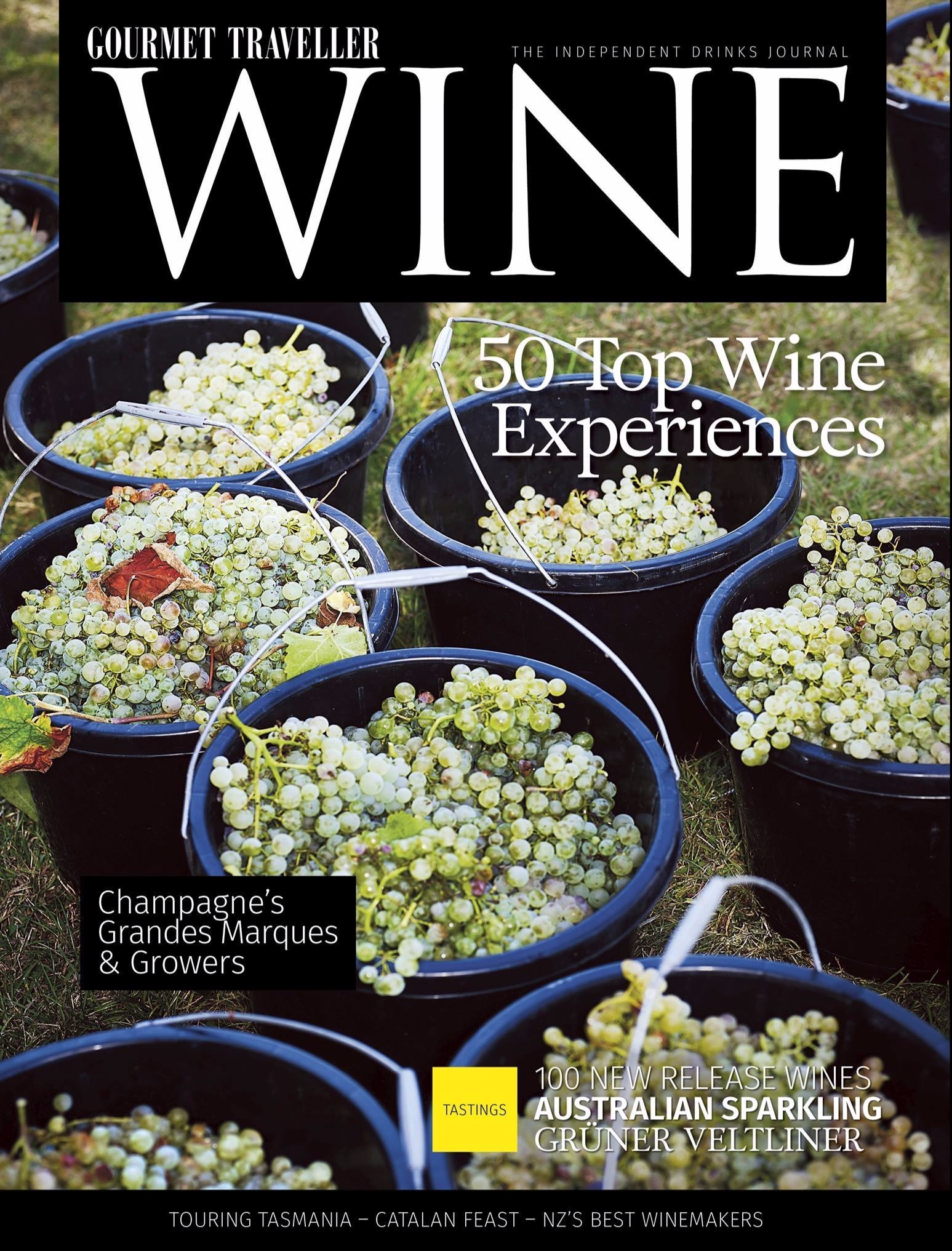 Gourmet Traveller Wine Magazine featuring Leading Ladies in Wine Dinner Perth with Anja Lewis from Canny Grapes