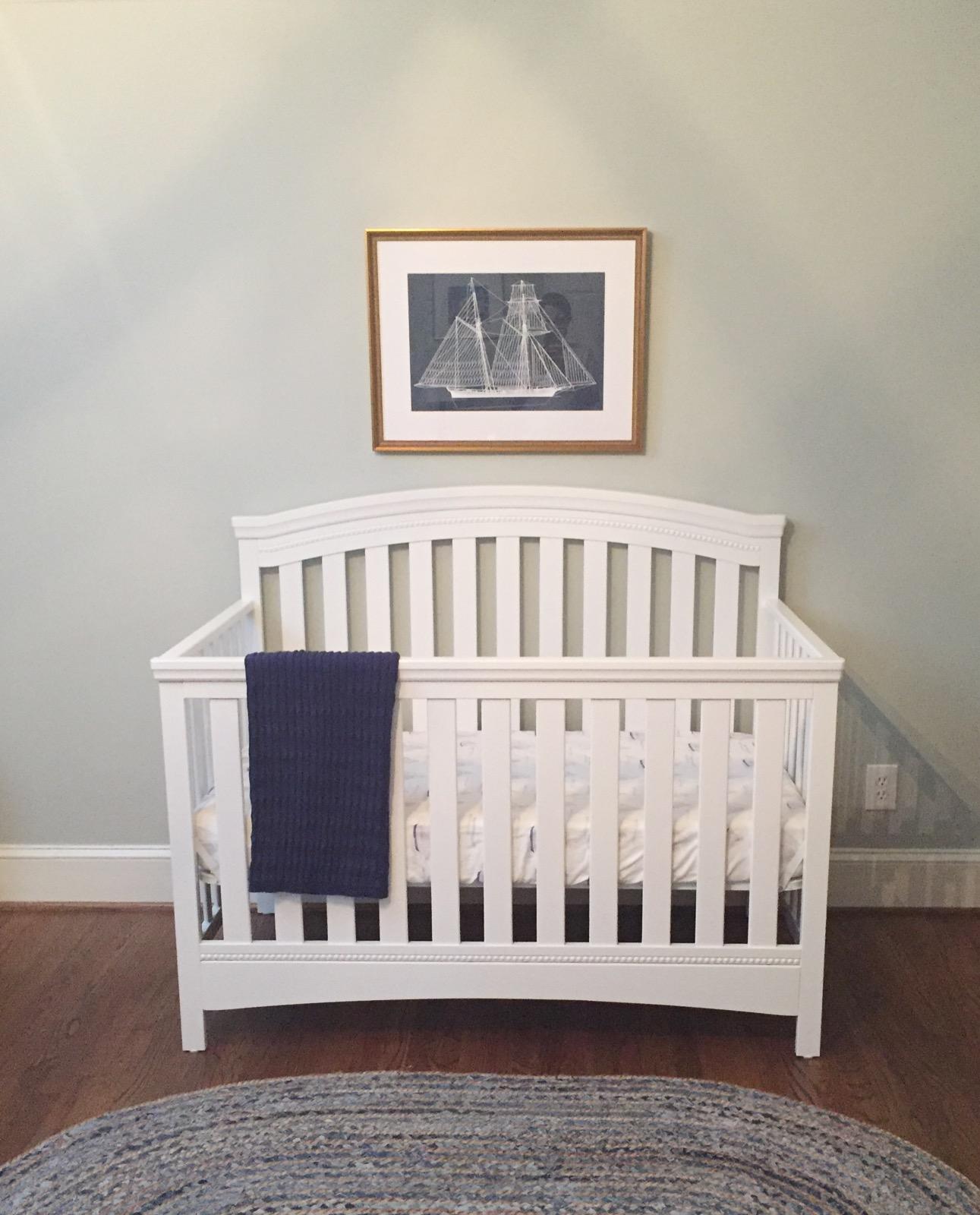 Baby Boy Nursery | Nursery | Baby Boy | Nautical | Parenting | Navy Nursery