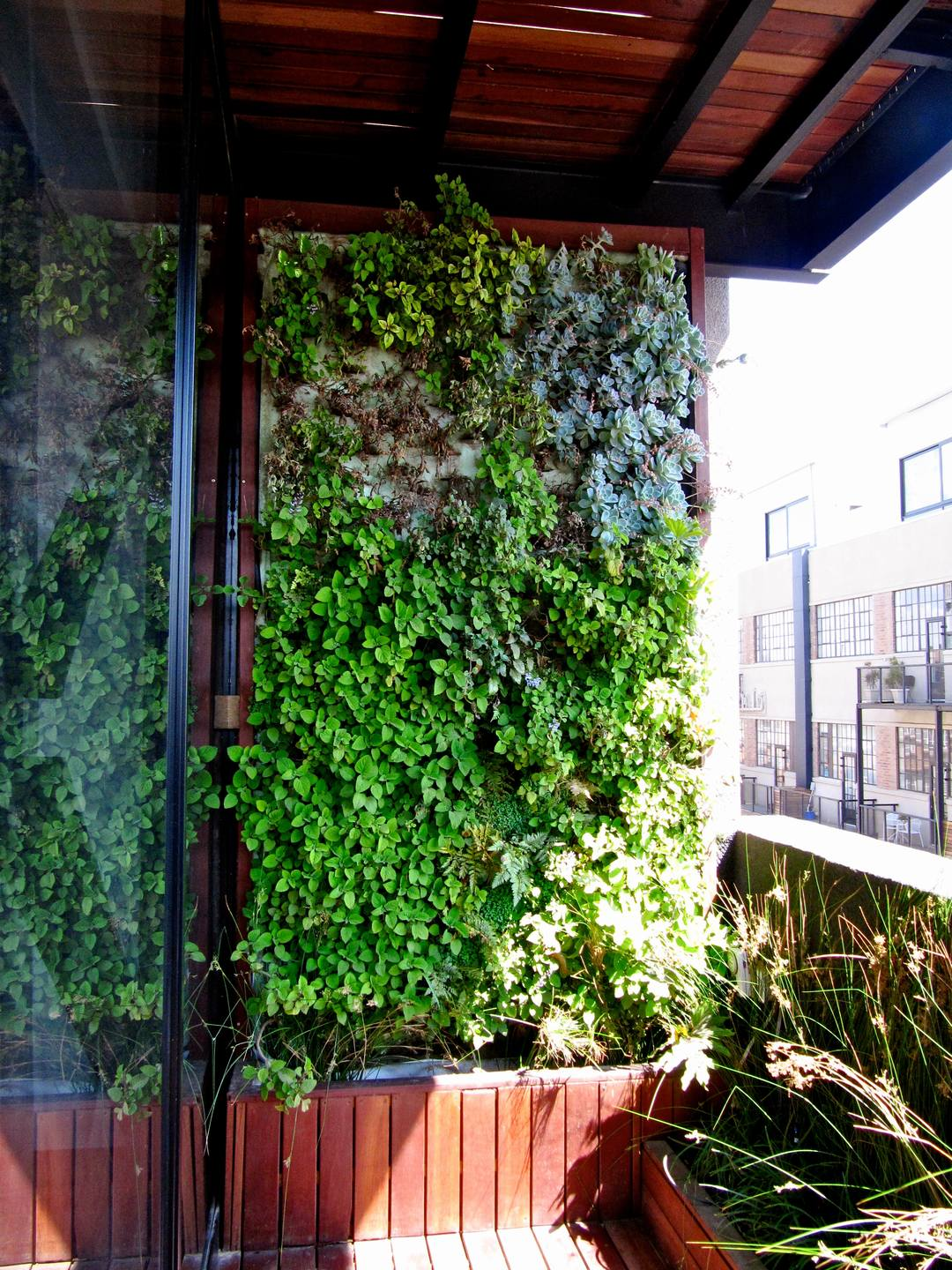 Balcony Vertical Garden City 2 Living Room Design