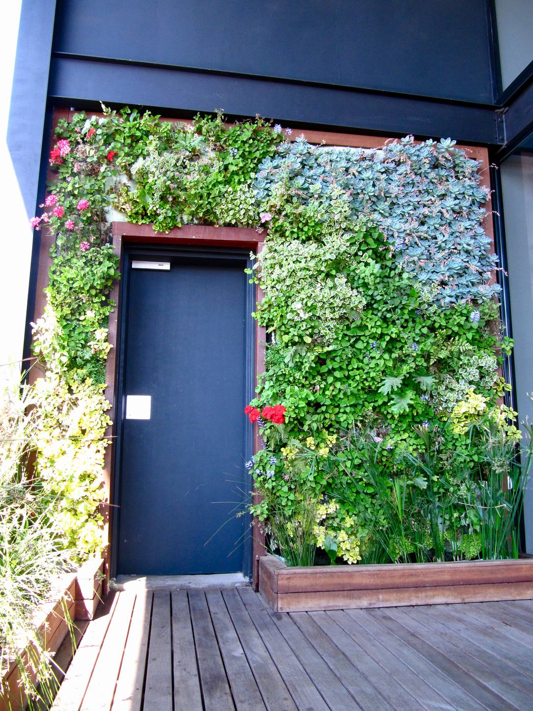 Lush Vertical Garden Maboneng 2 Living Room Design