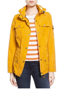 "The perfect ""raincoat"" yellow. Swoon."