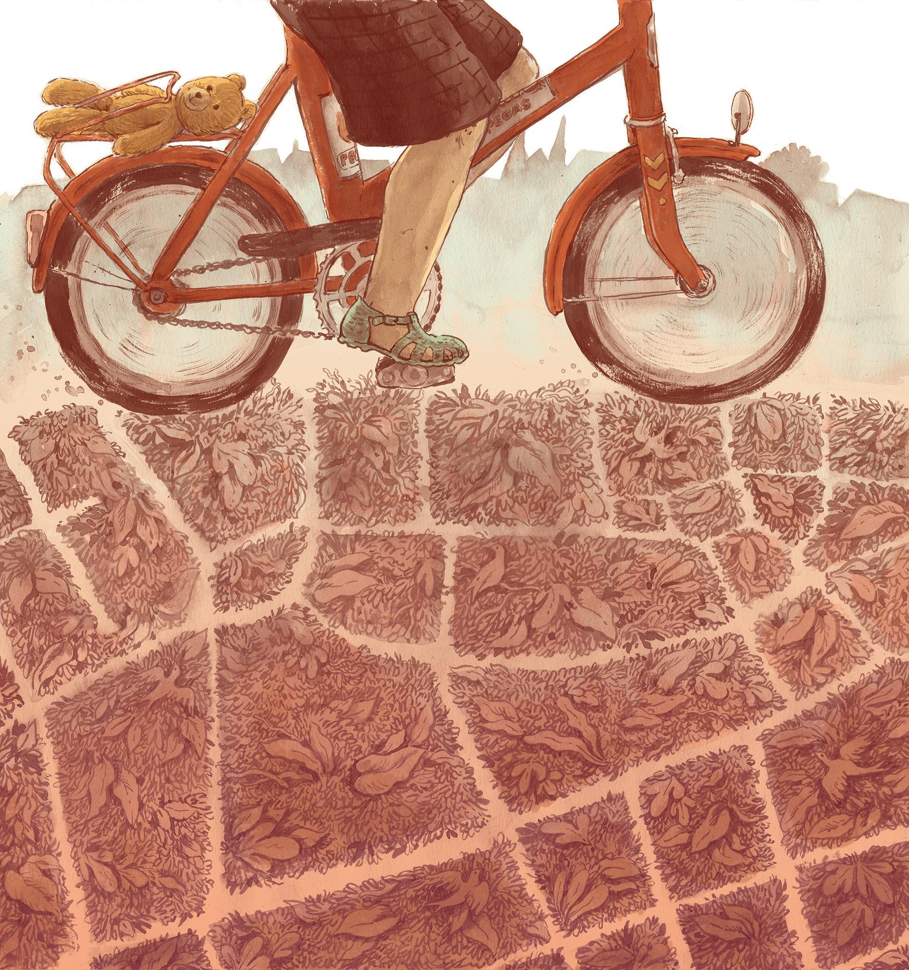 Ilustrație realizată de  Dan Ungureanu