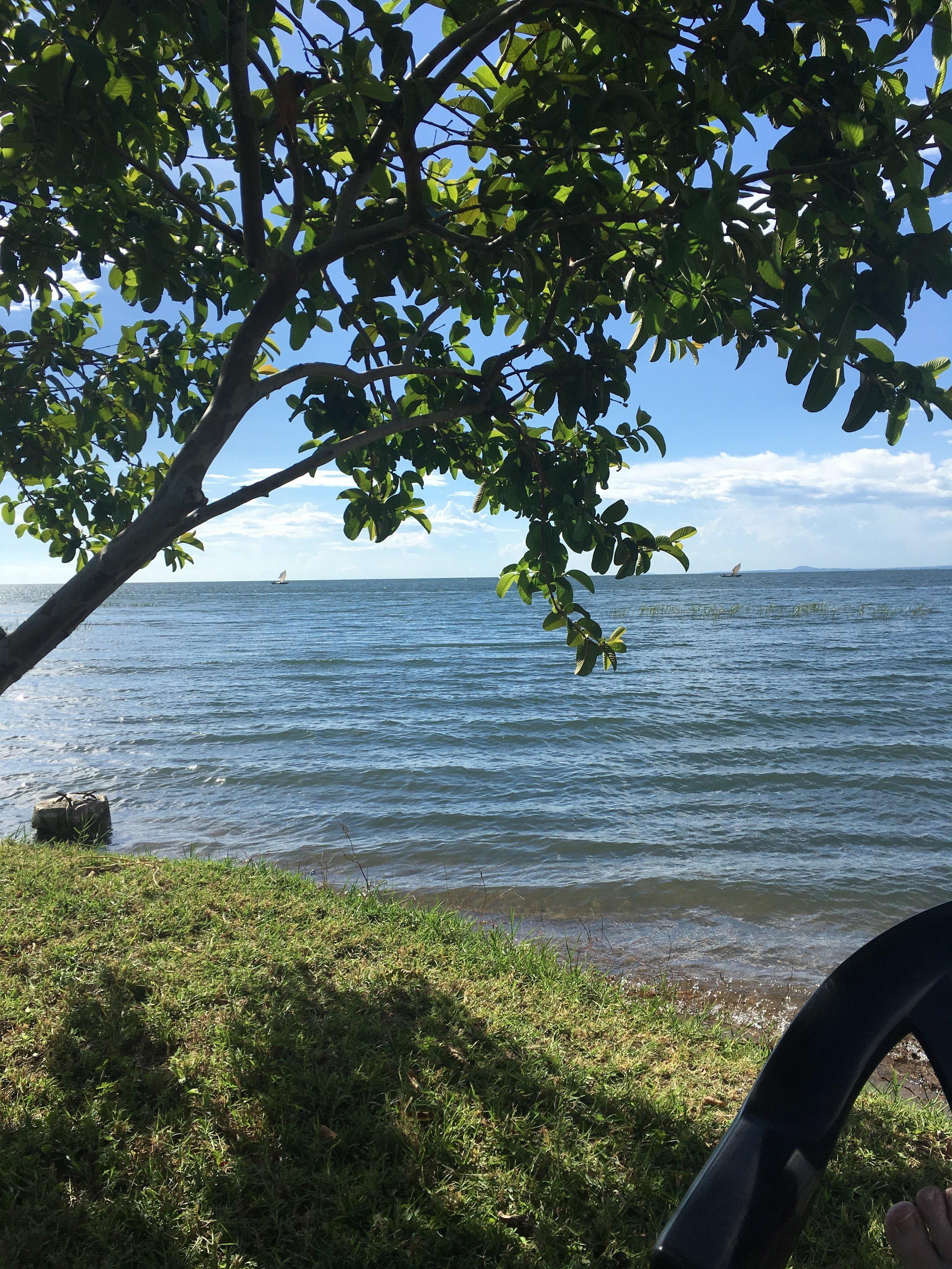 Lake Victoria from Rusinga island