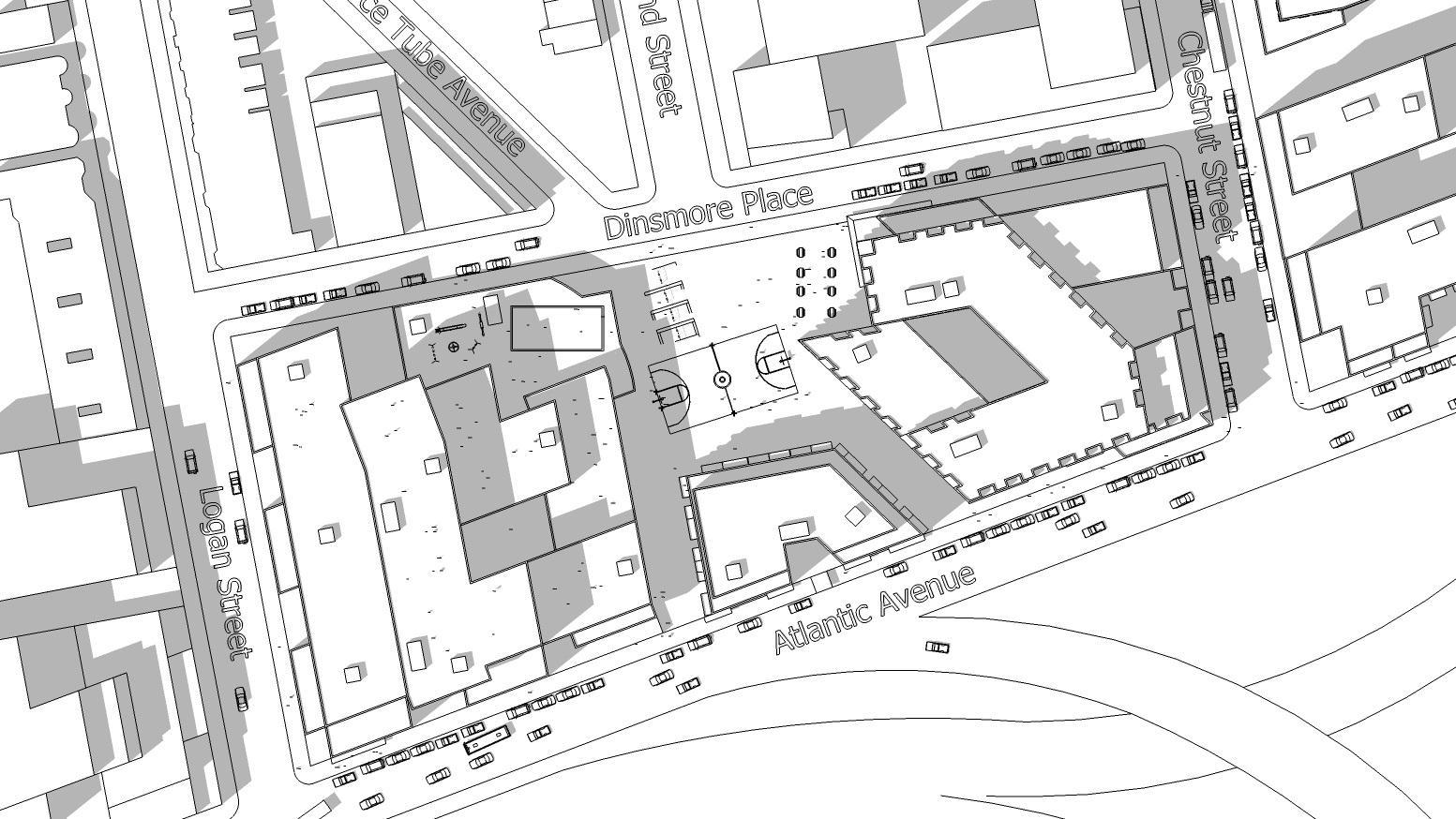 Socio-spatial Relationships Study: Site Plan