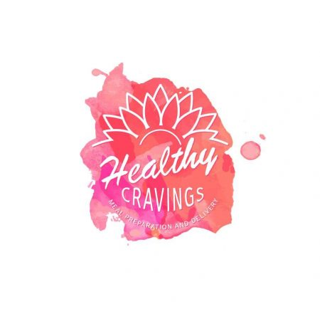 healthy-cravings-logo-design