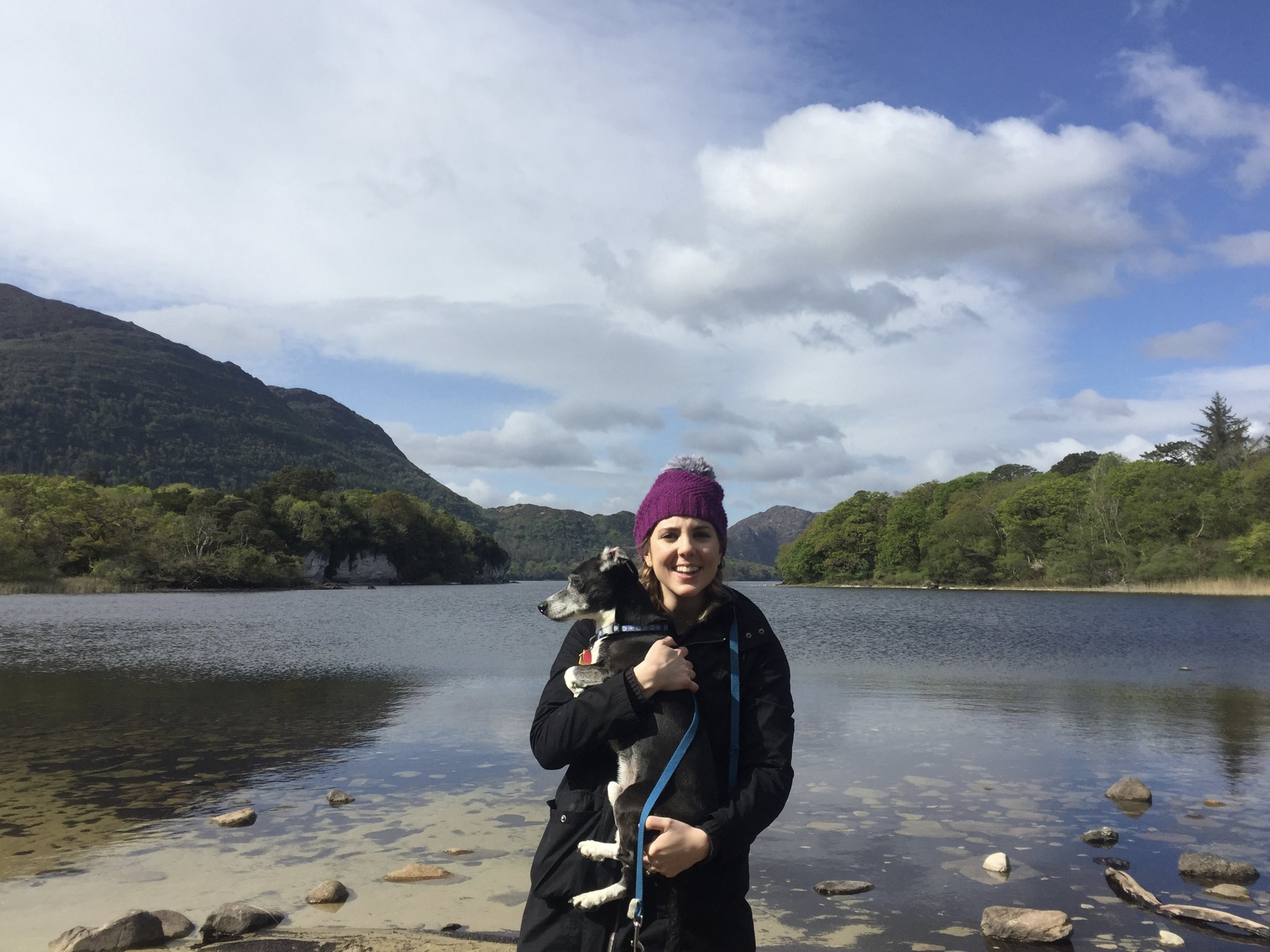 Killarney National Park with my dog, Zane. May 2017