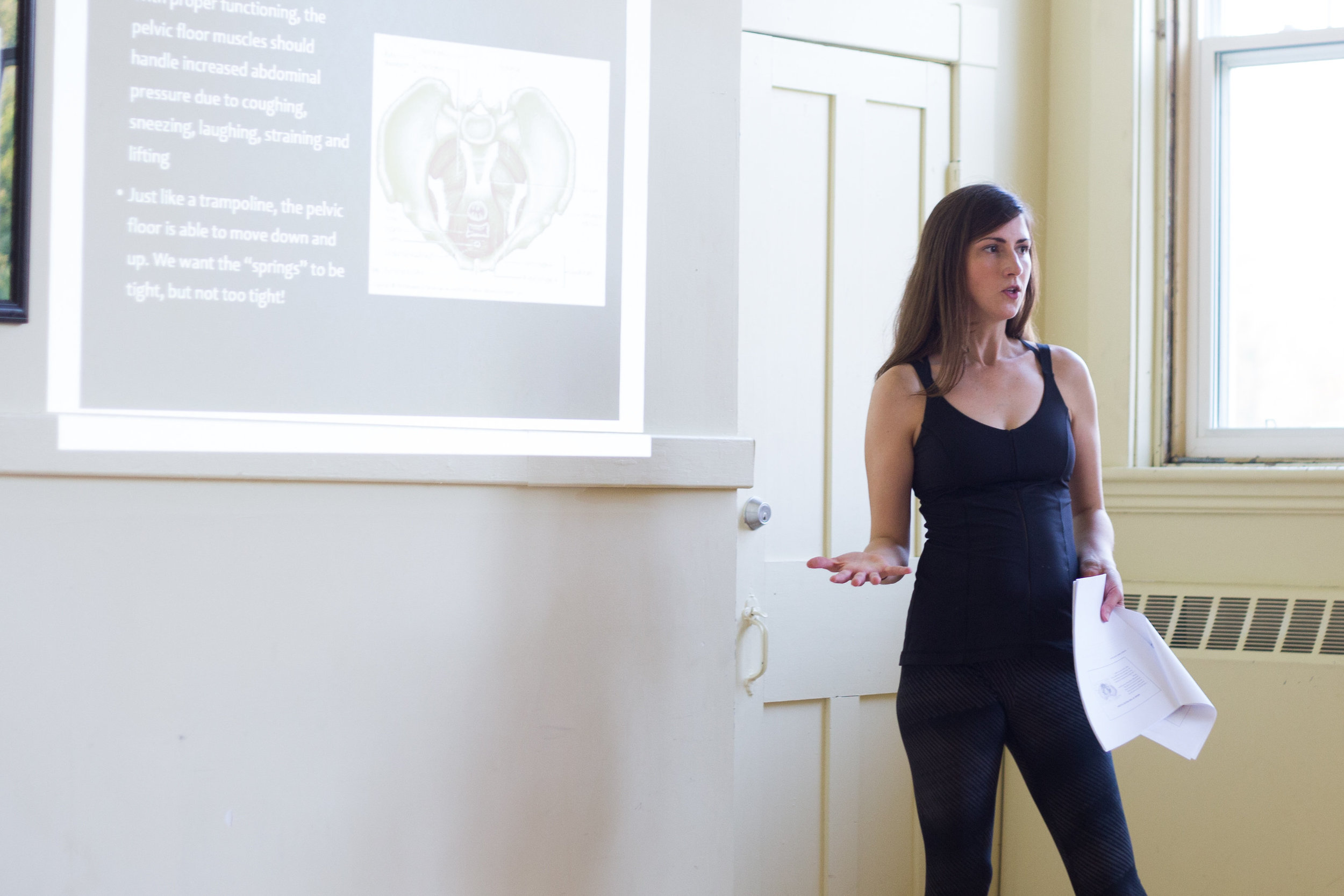 For more information about the Pelvic Floor Fitness Workshop: click here .