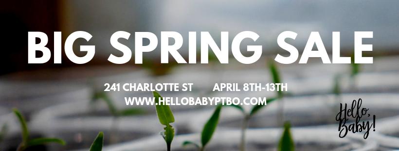 Hello, Baby! Big Spring Sale