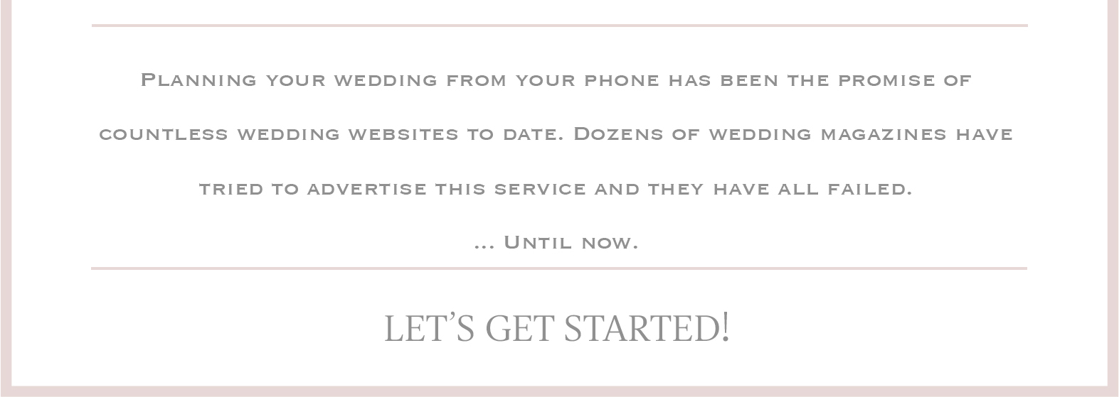 The Pocket Planner | Virtual Wedding Planner