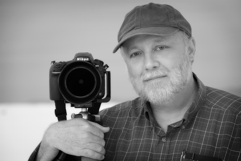 Craig Varjabedian and his Nikon Camera