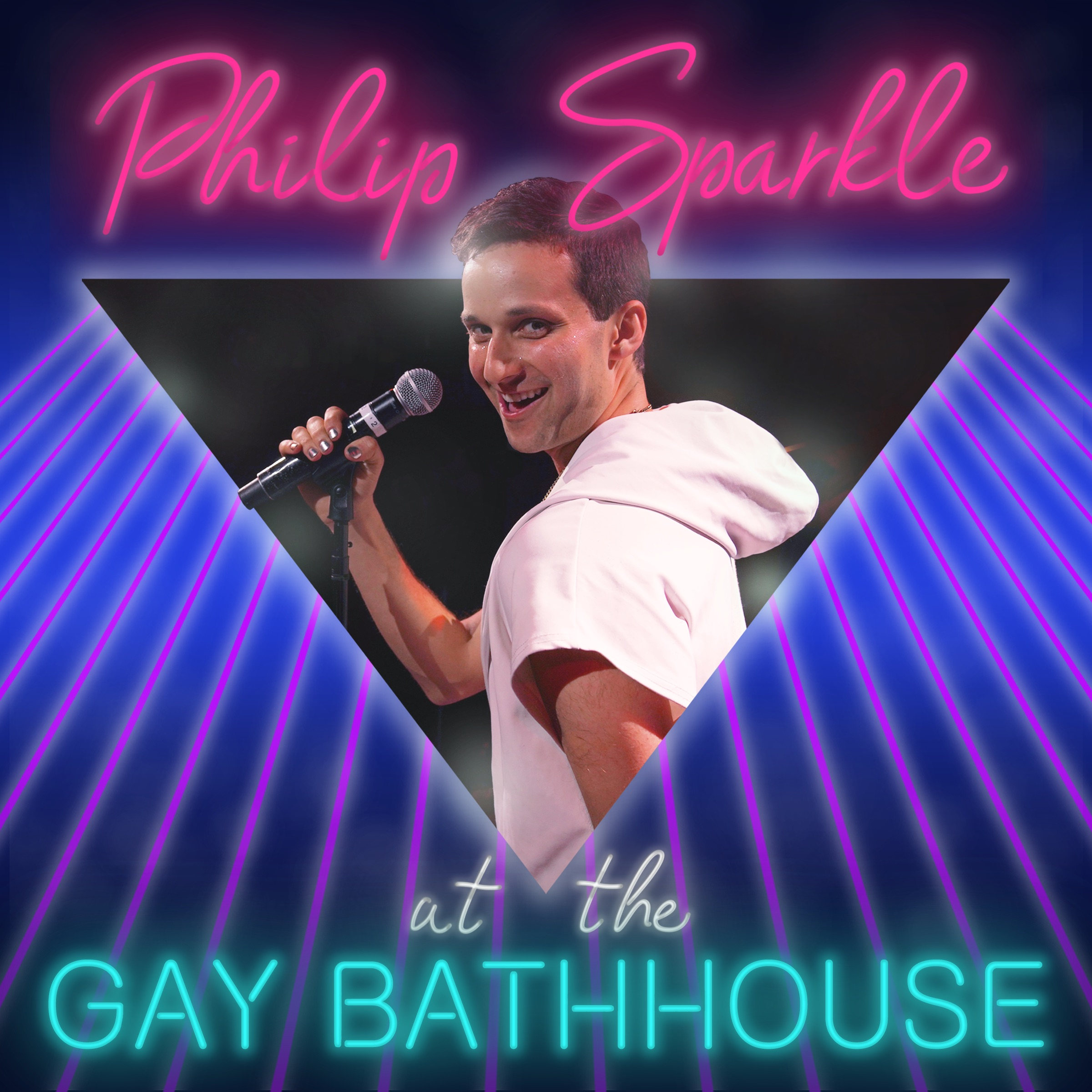 "DEBUT ALBUM - ""AT THE GAY BATHHOUSE""16 COMEDY SONGS"