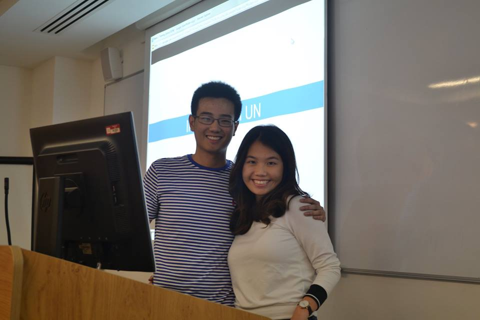 Kristina Lau and Ralph Chow