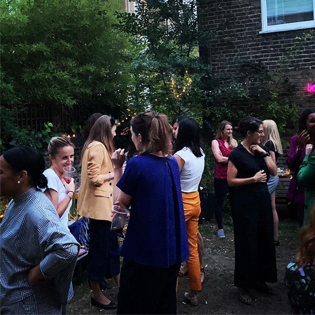 Brilliant Ladies in VC London BBQ. A couple of old but many new friends made. #vc #vclife #diversityinvc