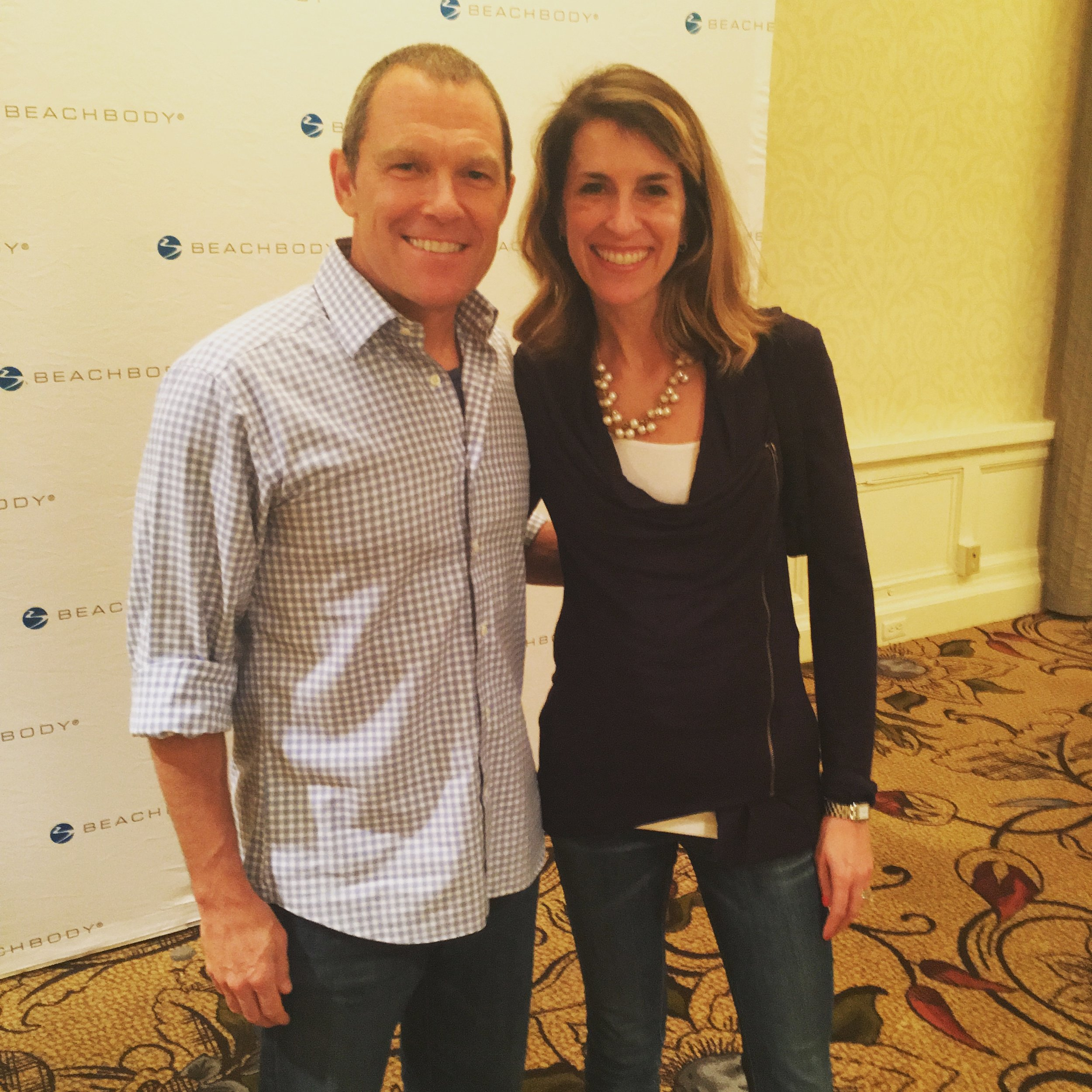 When I started the 21 Day Fix, I NEVER would have believed I'd be standing next the the CEO of this amazing company only 11 months later. This has been QUITE a journey!