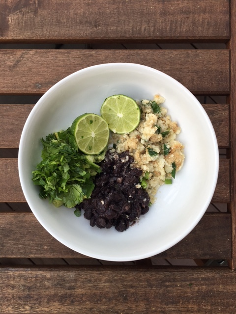 cauliflower rice, vegetarian, black beans, goop, beach body, weight loss, nutrition, good better best, brett cortell