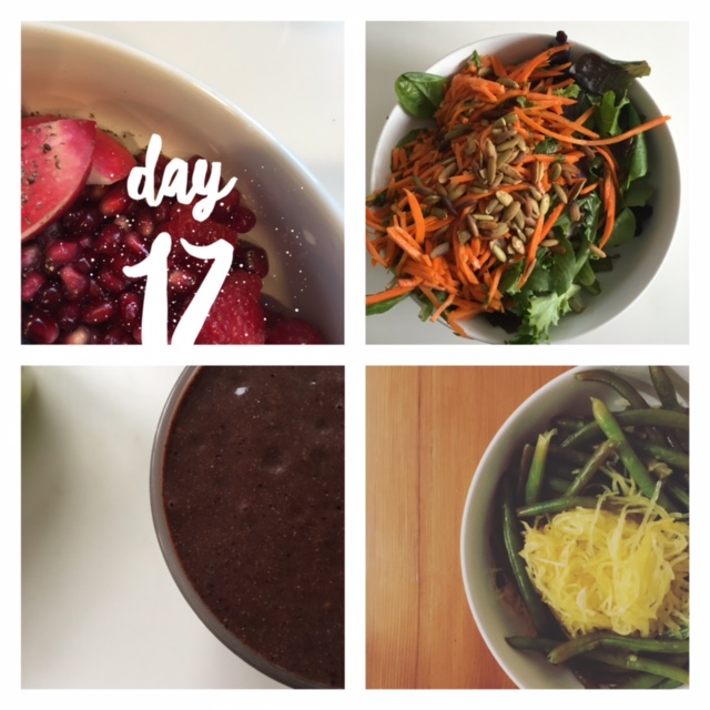 Day 17 Meals