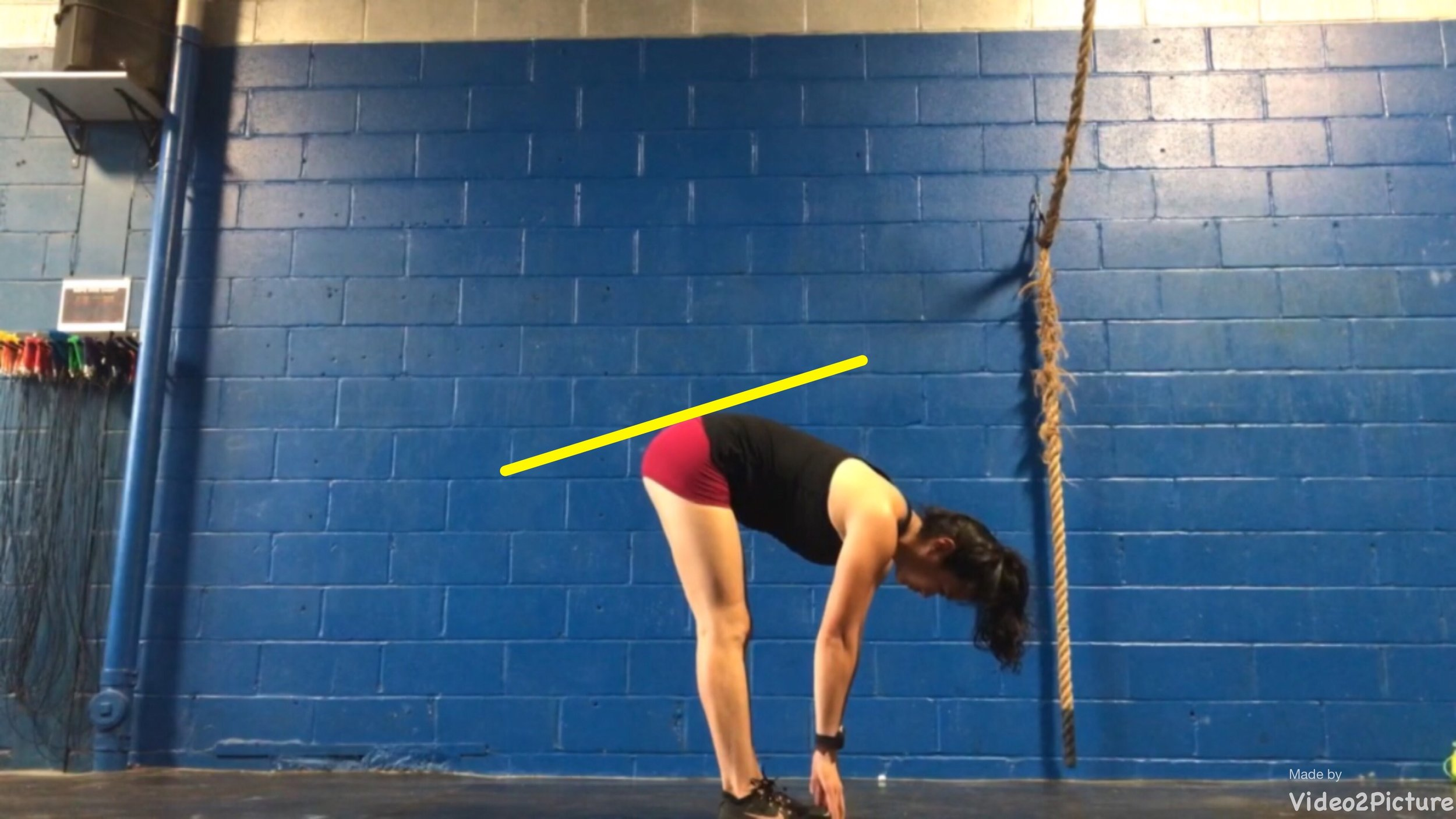 Mobile hamstrings allow forward tilt of your pelvis, which allows for proper positioning in a hip hinge.