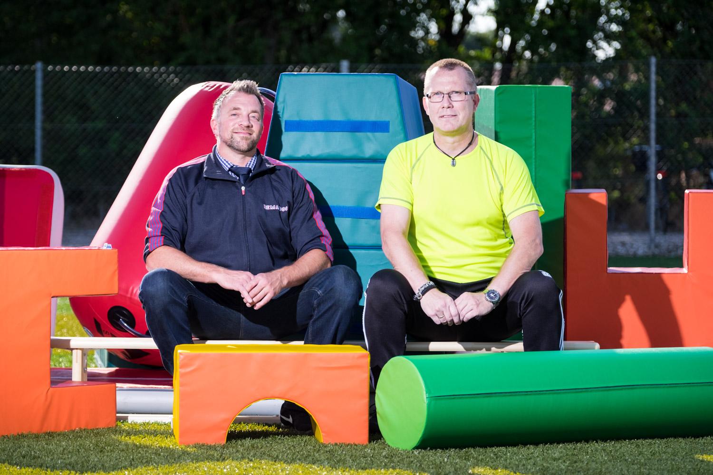 Nikolaj Jensen, Rema 1000 i Vindeby & Finn Weber, næstformand i Tåsinge Gymnastikforening