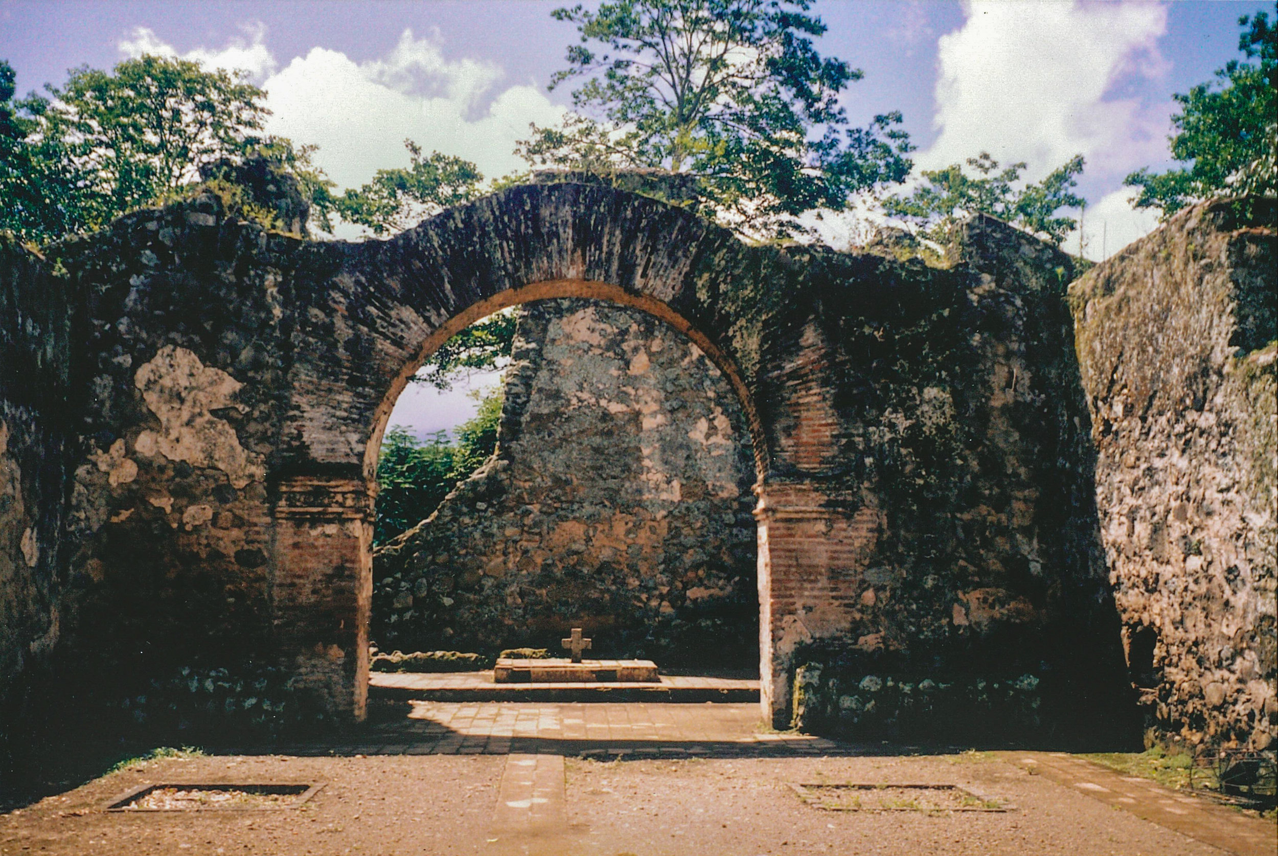 Iglesia Ujarrás, Cartago