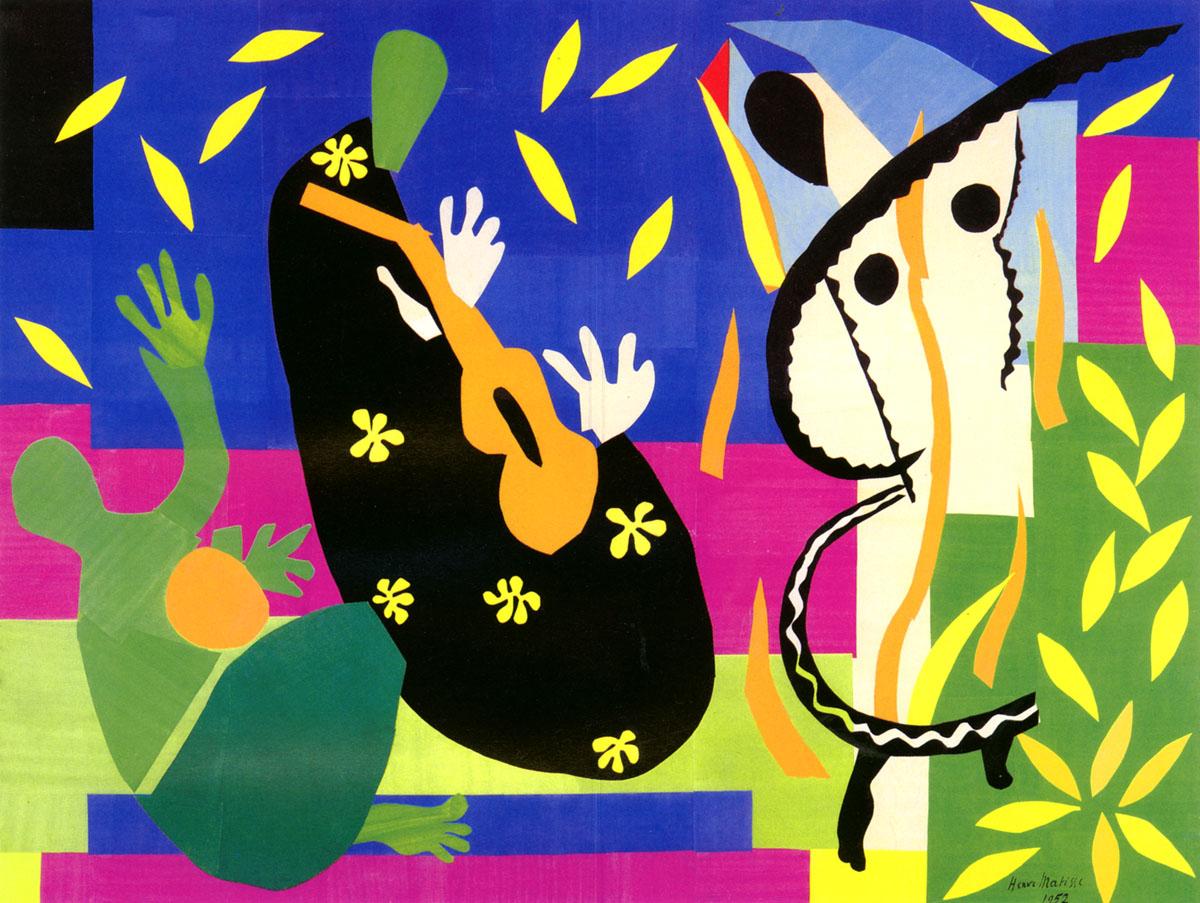 Henri Matisse - La Tristesse du Roi (1952)