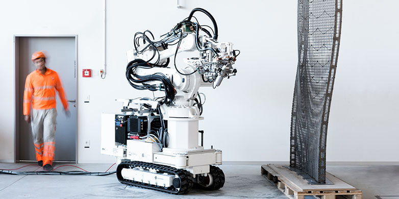 Eth Zurich construction robot