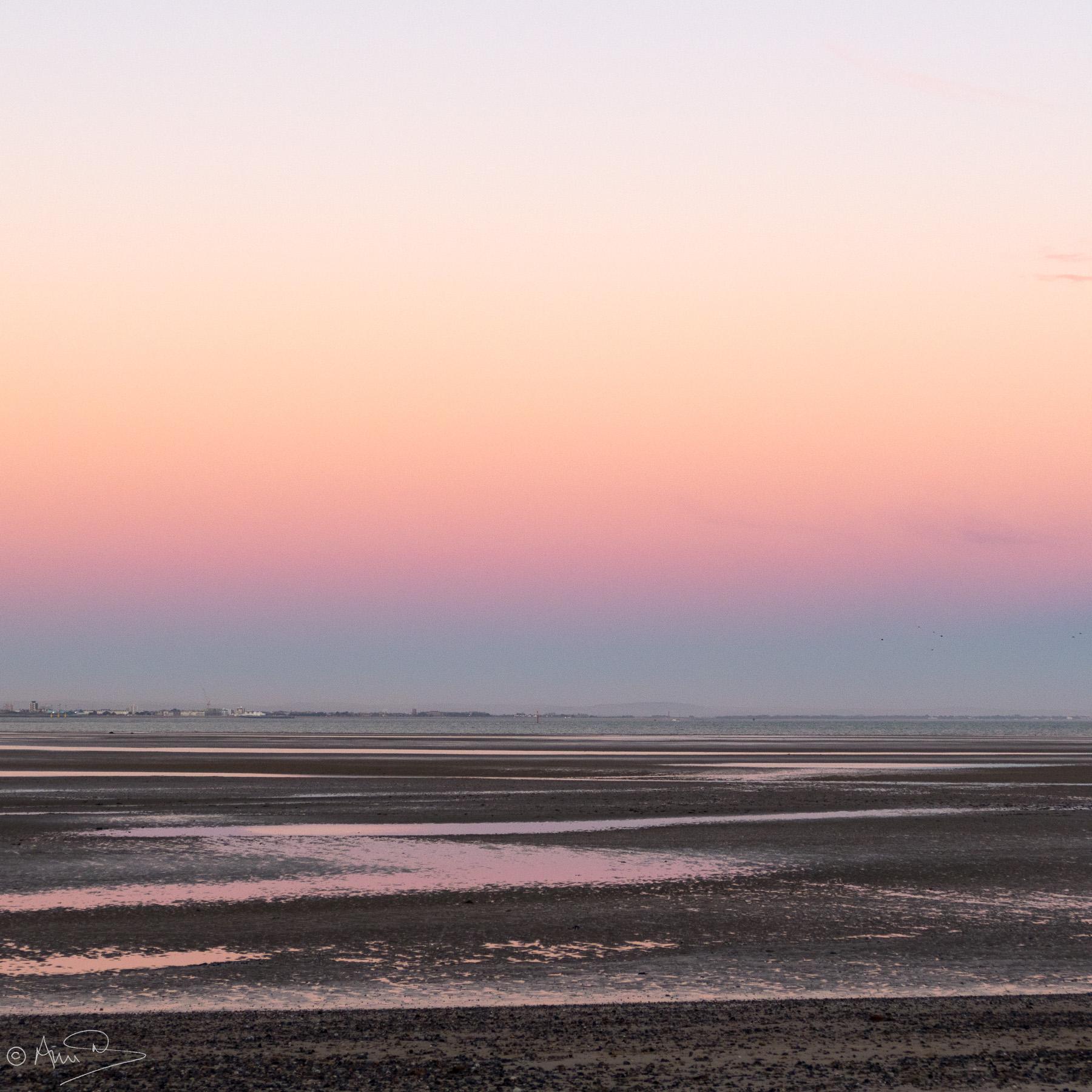 Abstract dusk