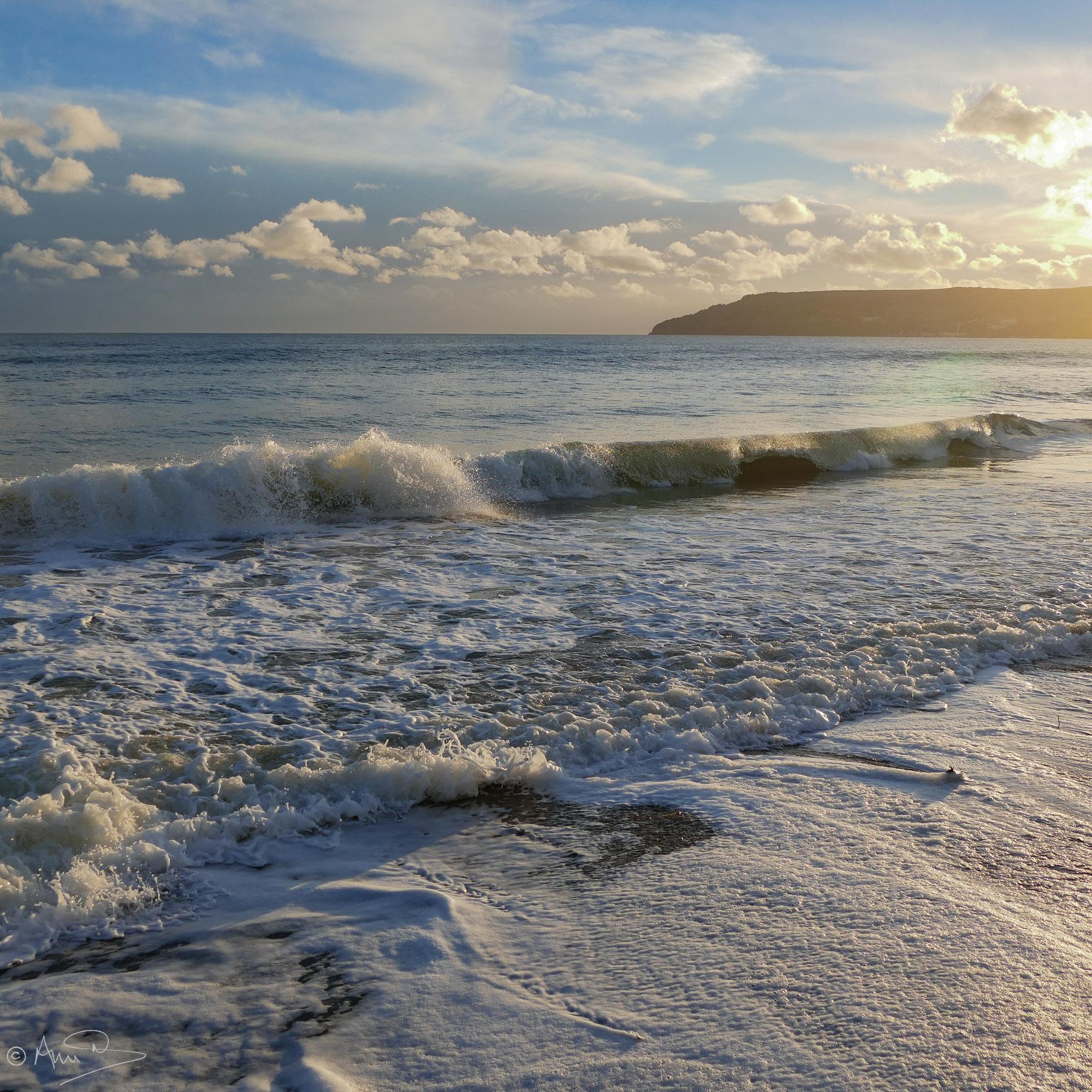 Winter afternoon, Sandown.