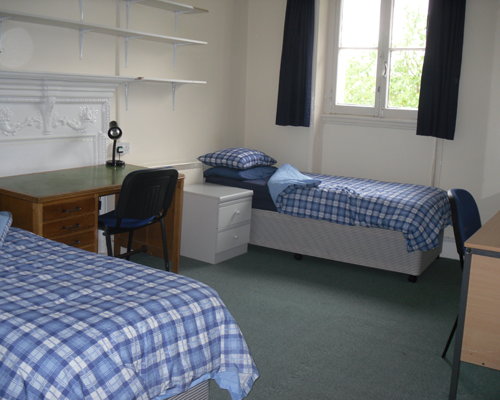 Double or twin unit room. A large room with an adjoining private kitchen.
