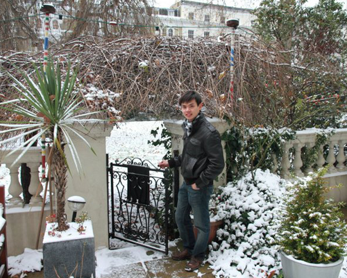 Our garden in the snow winter 2010/11.