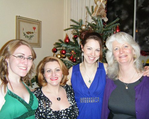 Ready for our close up. The staff at the Christmas party 2010.
