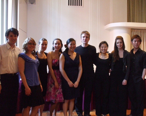 Performers at 'The Rhythm of Life' concert 2011.