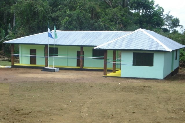 Gbongay primary school; the design model