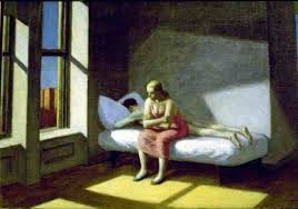 Summer in the City - Painting by Edward Hopper  (public domain)