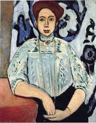 Portrait of Greta Moll by Henri Matisse